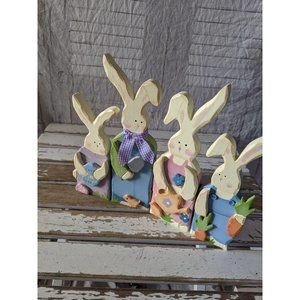 Easter bunny spring chicken hinge decor home